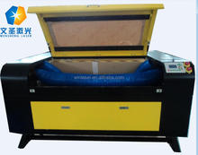 1390 hanniu laser cutting machine hot sale for wood man make shoes leather laser cutter