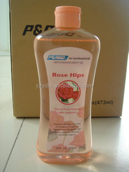 rose essence body massage oil with Vitamin-E