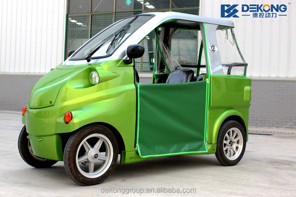 New condition china manufacturer electric car adult automobile with curtain