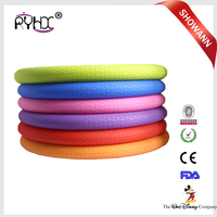 Wear resistant softer hand silicone steering wheel cover for car