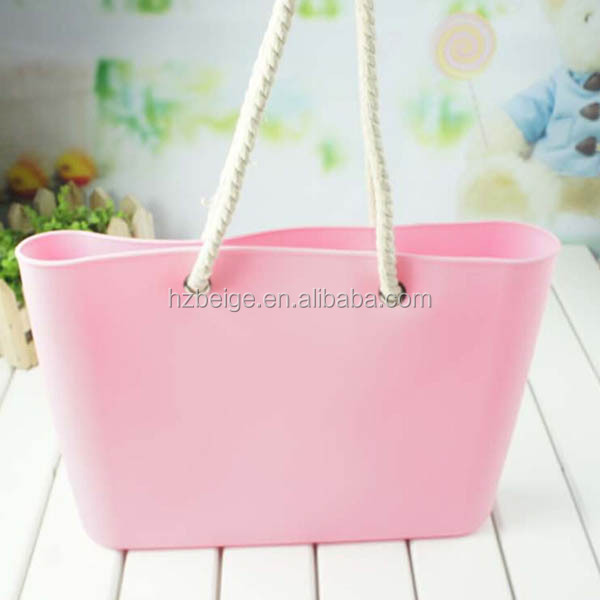 2016 Hot Sell Silicone Tote Bag,Silicone Beach Bag,Silicone Rubber ...