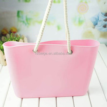 2016 hot sell silicone tote bag ,silicone beach bag,silicone rubber bag