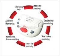GSM elderly Guarder system gsm elderly guarder alarm with panic button, for senior living FDL-A10