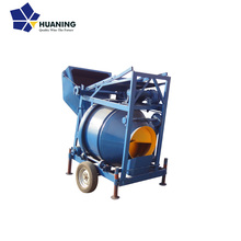 2017 New Production 300L Self-loading Drum Concrete/Cement Mixer Machine with Lift