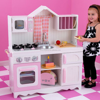 EN Certificated Wooden Children Kitchen Play