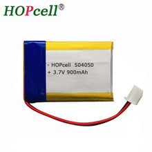 China Supplier 3.7 Volt Li-polymer Rechargeable battery / 3.7V 900mAh Lipo batteries