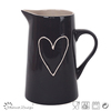 Hot selling Delicate Handpainting Stoneware Houseware Ceramic Pitcher