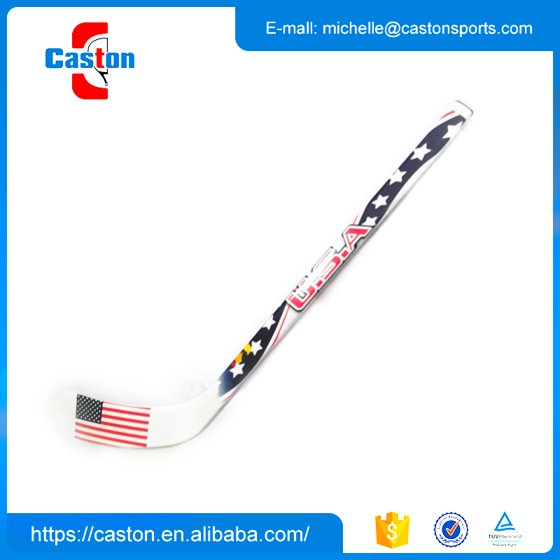 Promotion seasonal ice hockey sticks composite branded with promotional price