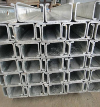 C Shaped Galvanized Steel Fence Posts For The Guardrail