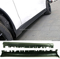 Real Carbon Fiber Side Skirts 1 Pair For BMW F15 X5 2014UP B263