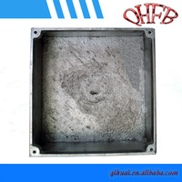 Electrical square waterproof box, aluminum enclosure