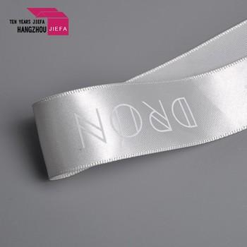 Custom Logo Polyester Printed Satin Ribbon
