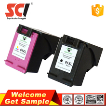 original quality black color compatible ink cartridge for hp ch561w 61