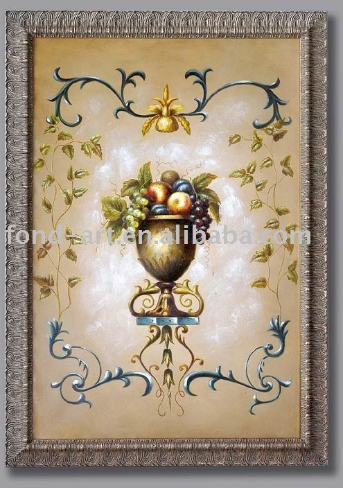 2362 Framed Canvas Oil Painting