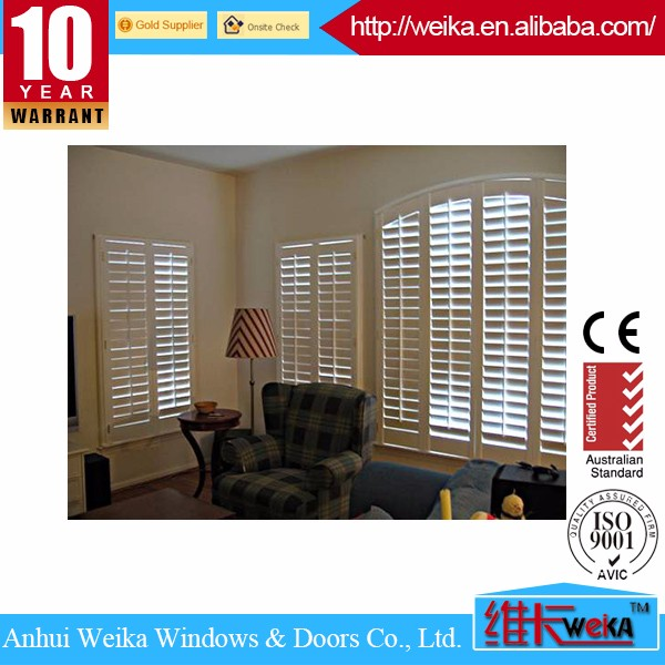 Aluminum shutter window design factory made in Anhui,China