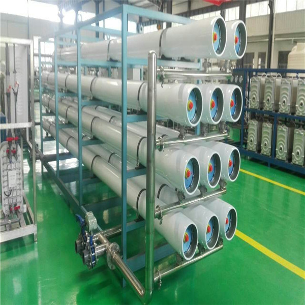 High efficient brackish river water desalination purification system manufacture