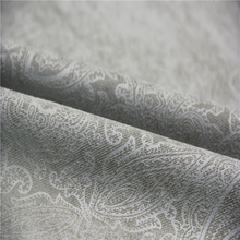 35W corduroy totem floral embossed fabric for sofa