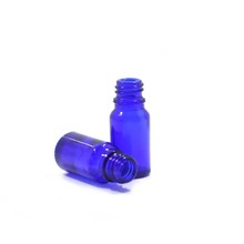 10ml cobalt blue essential glass oil liquid e-juice bottle for e cigarette
