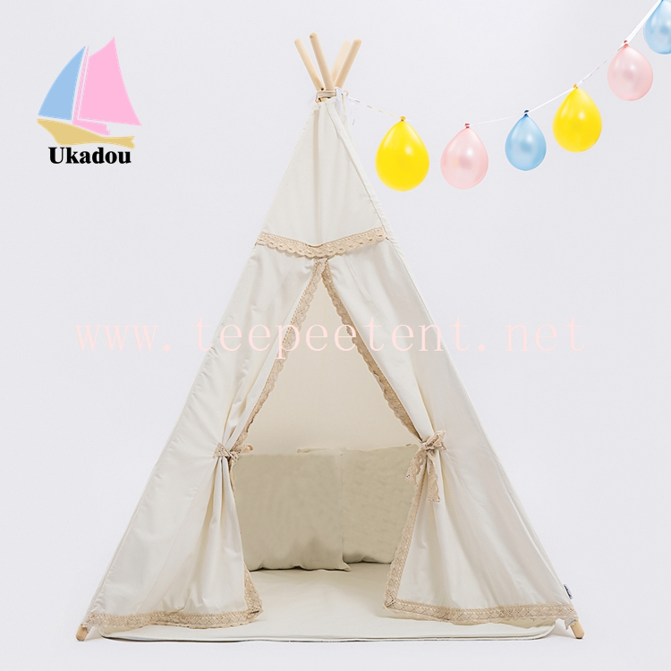 Factory Sale New Style Indoor High Quality Canvas Teepee for kids