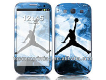 Flying man playing basketball for galaxy s4 Custom cell phone skins