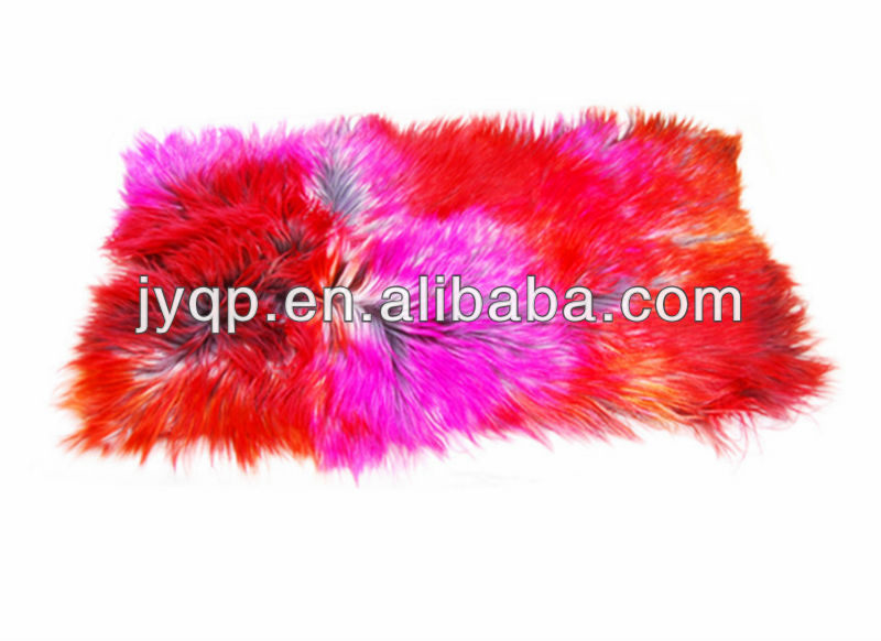 Wholesale Goat and Sheep Skin Fur Plate