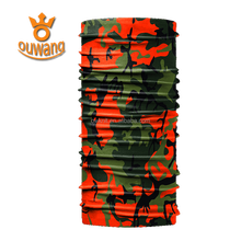 Ouwang new design camo reflective neck gaiter