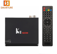 Factory direct price Android 7.1 Amlogic S905 Quad Core KII Pro Android TV Box dvb-T2 dvb-S2 Dual Tuner