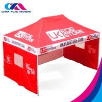 No moq promotional display tent,waterproof portable pop up camping tents