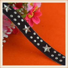 Fancy nailhead trimming tape for wedding dress waist belt suits gifts decoration on sale