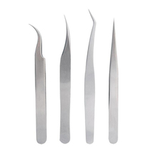 2017 hot sale hand stainless steel eyebrow tweezer