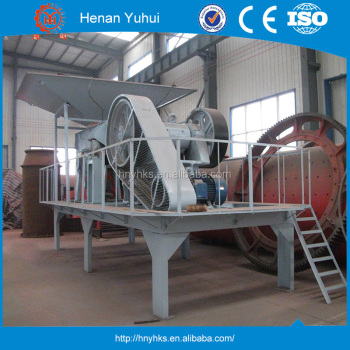 Economic, environmental protection, drive crushing plant