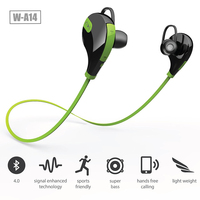 Bluetooth Earphone, 2016 New Design Sports Bluetooth Headphones, Light weight Mini Stereo