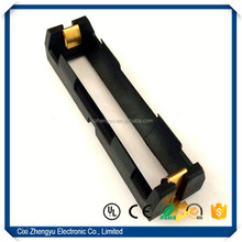 18650 battery holder, li ion battery holder, 18650 battery holder SMD Gold Plated