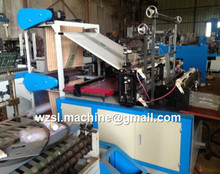 T-shirt shopping bag making machine automatic to make pe/pp film plastic bags