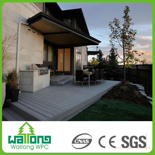New model waterproof boat deck material outdoor wood flooring wpc outdoor tiles