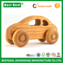 Sport car wooden toy trucks and cars educational wood toy car for kids