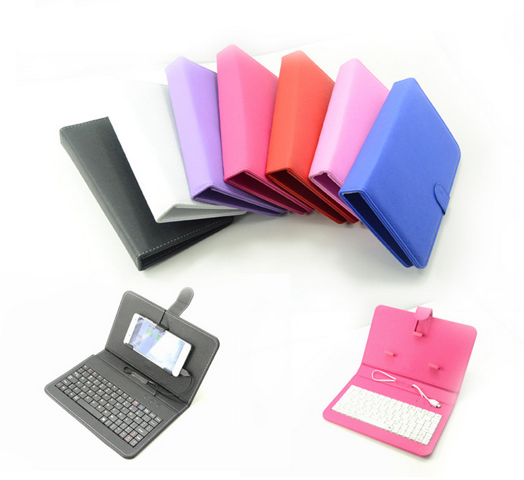 2016 the latest design 7-10 Inch tablets case with keyboard with micro usb charging for Smarphone and Tablet Shenzhen