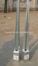 Ground Spike for Round Timber Post