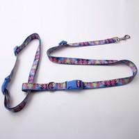 china custom waist wholesale strong cheap polyester dog leash hand free for running