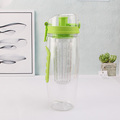 china mlife plastic fruit infuser water bottle bpa free 32oz for sport yoga