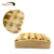 High Quality Personal Body Relaxing Wooden Wheels Foot Massager