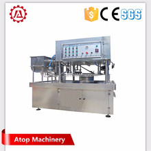 automatic 1000ml Liquid detergent doypack stand up bag/sachet/pouch filling capping packing machine