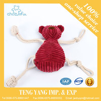 Fashion Custom low price in stock striped corduroy lovely novelty adult toy stuffed toy