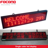 Bus Led Car Message Moving Scrolling Sign Display Shop Sign Board