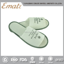 High quality hotel amenities / open toe slipper / disposable hotel slippers