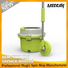 Trending product green single bucket 360 spin magic mop online shopping india