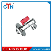 High quality Brass angle valve 90 degree water toilet standard cheap ART240V-D