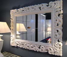 luxury wall decorative framed bevelled mirror