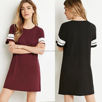 HOT SALE WOMAN DRESS/ Fashion Womens Sexy Summer Short Sleeve Mini Dress Casual T-Shirt Loose Tops