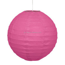 Top quality sell well make round paper lantern for supplies